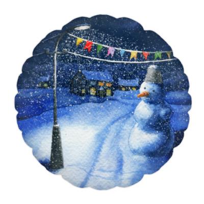 Подушка Новогодняя ночь