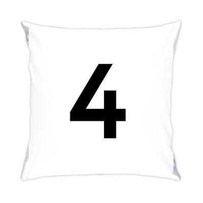 Подушка Цифра 4