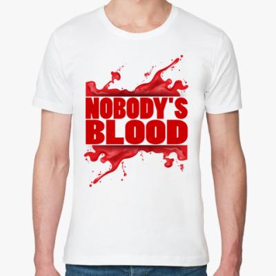 Футболка из органик-хлопка Nobody's Blood