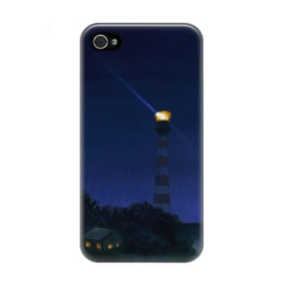 Чехол для iPhone 4/4s Свет маяка