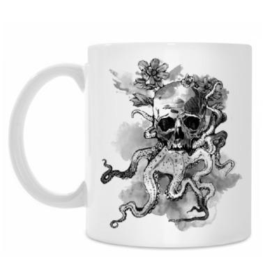 Кружка Череп-кальмар