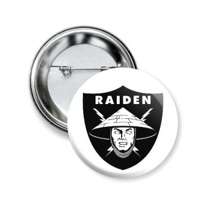 Значок 50мм Raiden Raiders