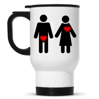 Кружка-термос Мужчина и женщина