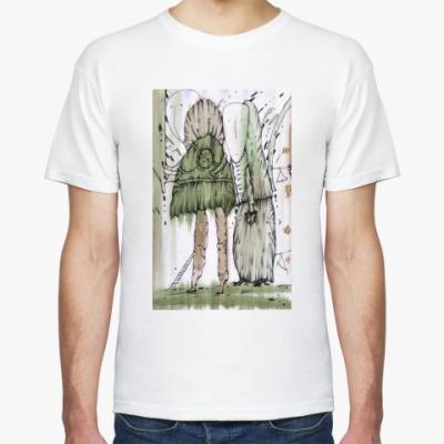 """Футболка Муж. футболка  """"Шкафный мир"""""""