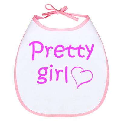 Слюнявчик Слюнявчик pretty girl