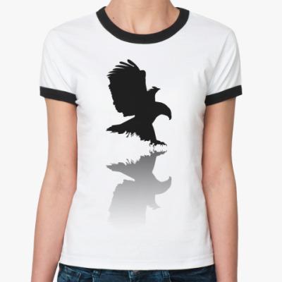 Женская футболка Ringer-T Орел
