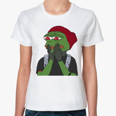 Классическая футболка Лягушонок Пепе
