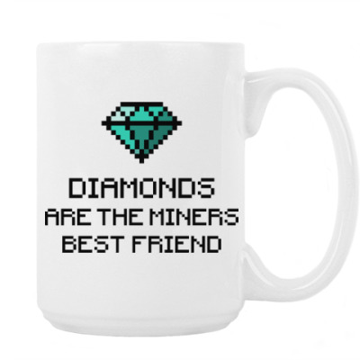 Minecraft - diamonds