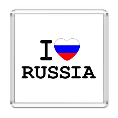 Магнит I Love Russia