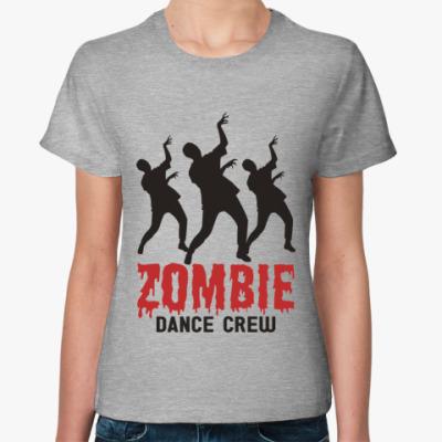 Женская футболка Zombie dance crew