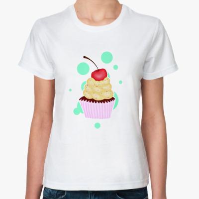 Классическая футболка Капкейк