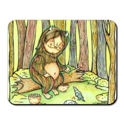 Коврик для мыши Лесной тролль
