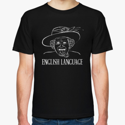 Футболка Английский язык