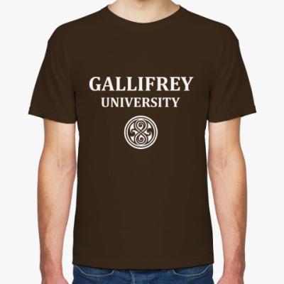Футболка Gallifrey University