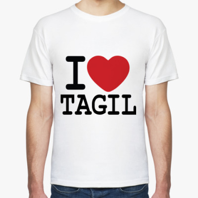 Футболка I Love Tagil