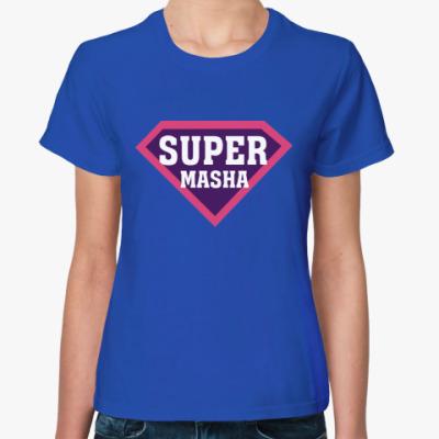 Женская футболка СУПЕР МАША