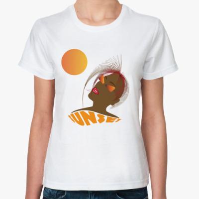 Классическая футболка  'Закат'