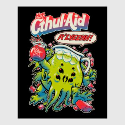 Постер Ктулху Cthul-Aid
