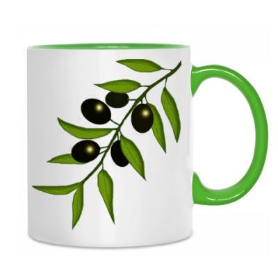 Ветка с маслинами