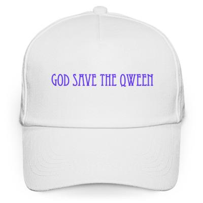 Кепка бейсболка God Save The Qween