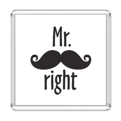 Магнит Mr. right