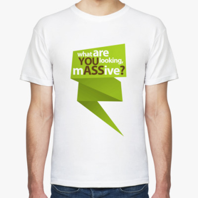 Футболка  футболка YOU ASS6?