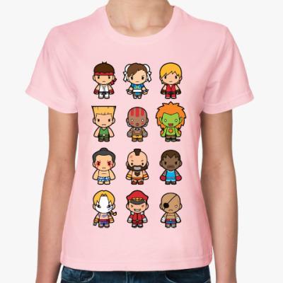 Женская футболка Уличный Боец (Street Fighter)
