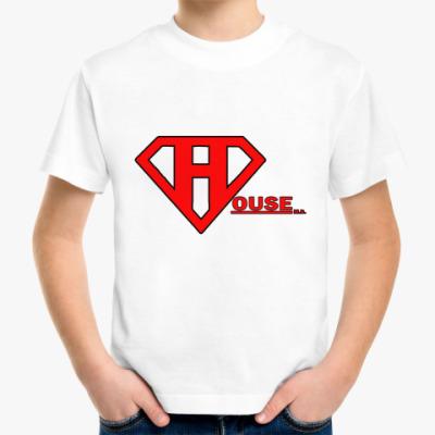 Детская футболка SuperHouse