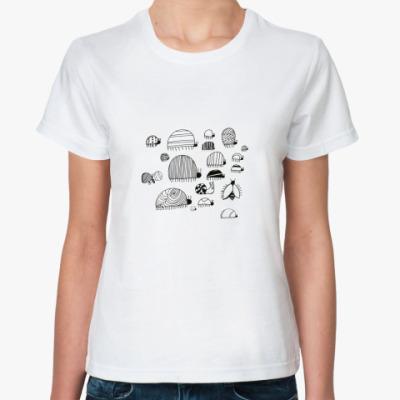 Классическая футболка жукашечки