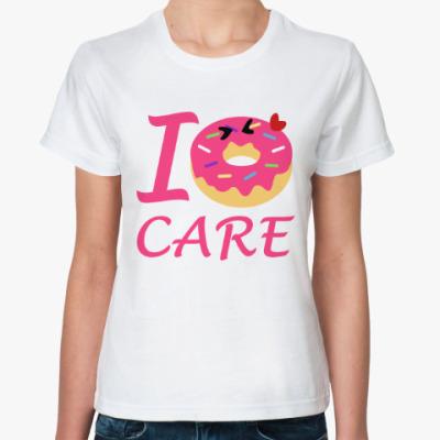 Классическая футболка Пончик