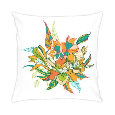 Подушка Букет лилий