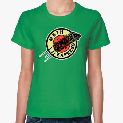Женская футболка Meth Express