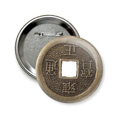 Значок 58мм Монета судьбы