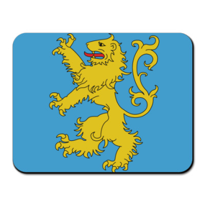Коврик для мыши Флаг квартиры Шелдона