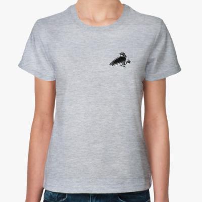 Женская футболка raven