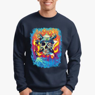 Свитшот Music Skull