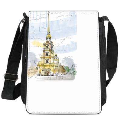 Сумка-планшет Петропавловская крепость