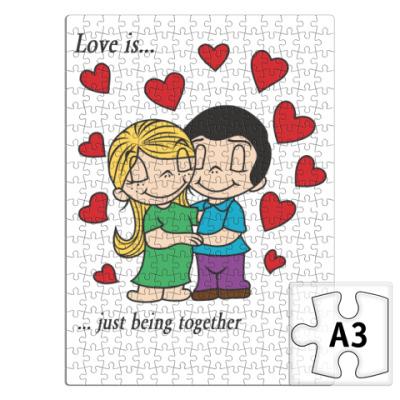 Пазл  LOVE IS