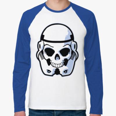 Футболка реглан с длинным рукавом Trooper Skull