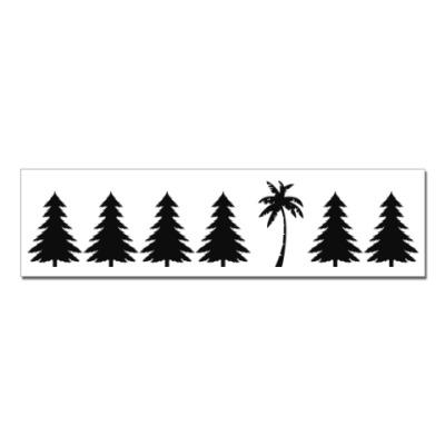 Наклейка (стикер) Другое дерево