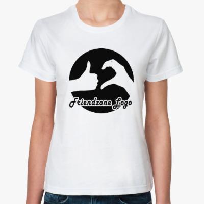 Классическая футболка Friendzone logo