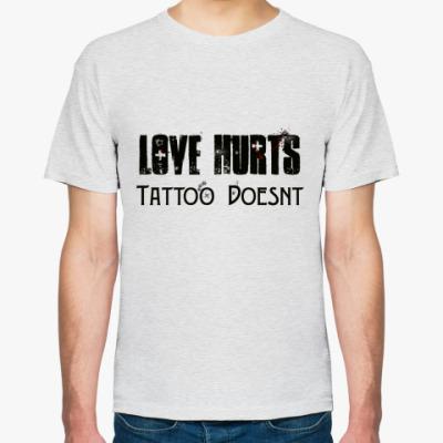Футболка   Love hurts