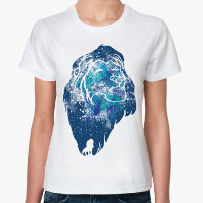 Классическая футболка Лев (Lion)