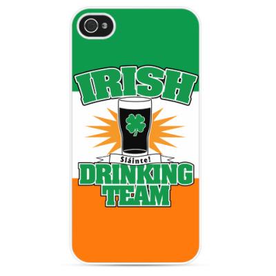 Чехол для iPhone Irish drinking team.