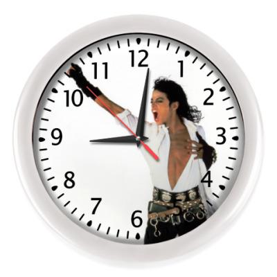 Настенные часы Майкл Джексон
