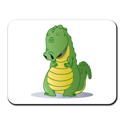 Коврик для мыши крокодильчик