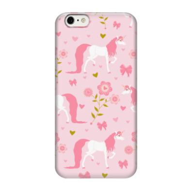 Чехол для iPhone 6/6s Единороги / Unicorns