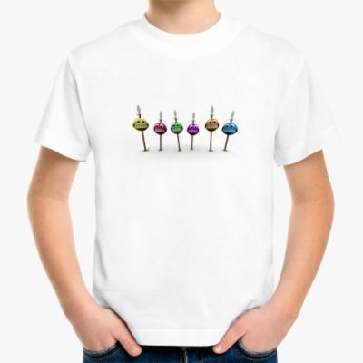 Детская футболка Веселые смайлики