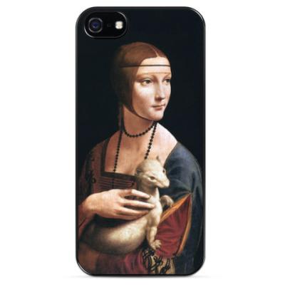 Чехол для iPhone Дама с горностаем