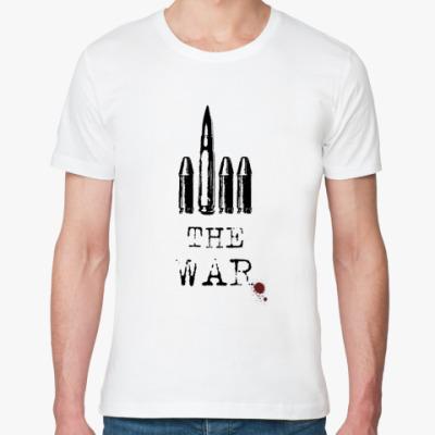 Футболка из органик-хлопка  F*ck the war